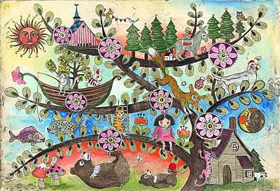 ヤマモトミナ銅版画展―Peaceful coexistence―