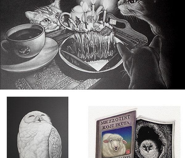 生田宏司 銅版画展